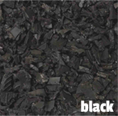 black rubber mulch Illinois
