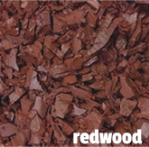 redwood rubber mulch in Illinois